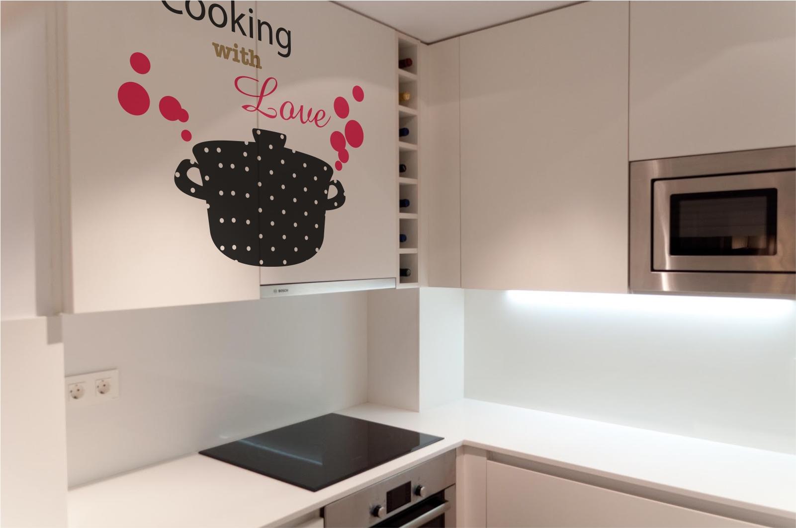 Haz que tus muebles destaquen con un vinilo decorativoblog - Cocinas con vinilo ...
