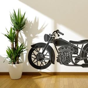 Vinilo decorativo motocicleta