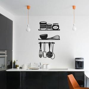 Decorar la cocina con vinilos decorativosblog de vinilos - Cocinas con vinilos decorativos ...