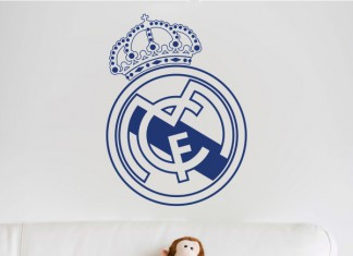 Vinilo real madrid club de futbol